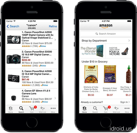 amazon app store for iphone inc amzn given quot hold quot rating at keycorp 8955