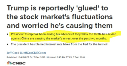 Trump CNBC Post