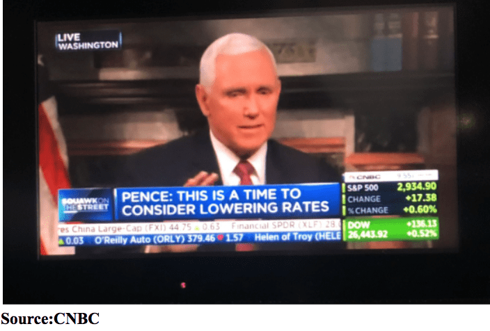 mike pence on cnbc may 2019